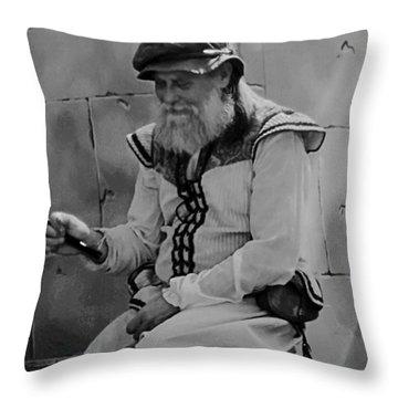 Gypsy Elder Throw Pillow