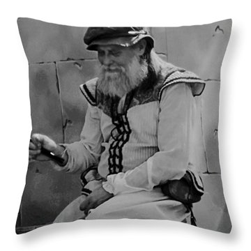 Gypsy Elder Throw Pillow