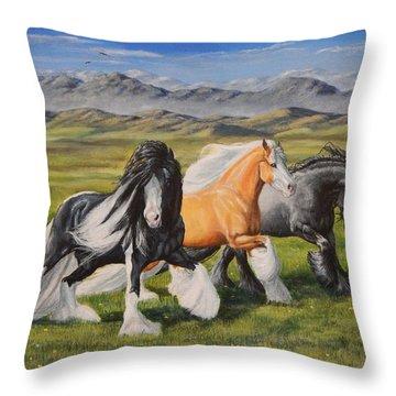 Gypsy Medley Throw Pillow