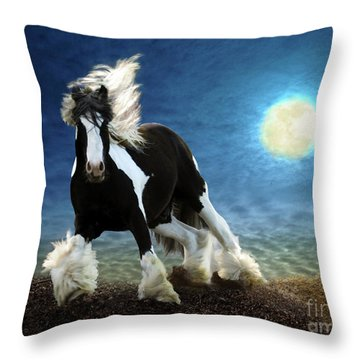 Gypsy Moon Throw Pillow