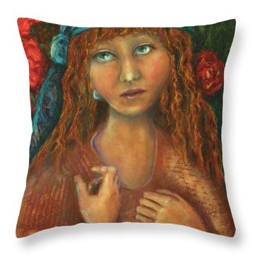 Gypsy Throw Pillow by Terry Honstead