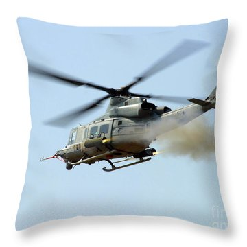 H-1 Upgrades Test Pilot, Launches Throw Pillow by Stocktrek Images