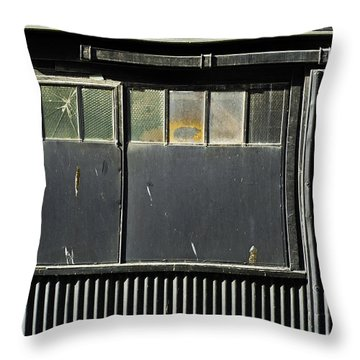Throw Pillow featuring the photograph H3 Geometry by Adrian Pym