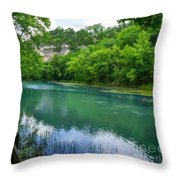 Ha Ha Tonka Spring Throw Pillow