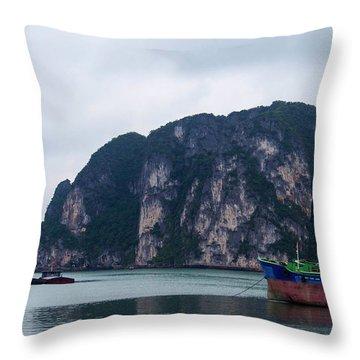 Ha Long Bay Throw Pillow