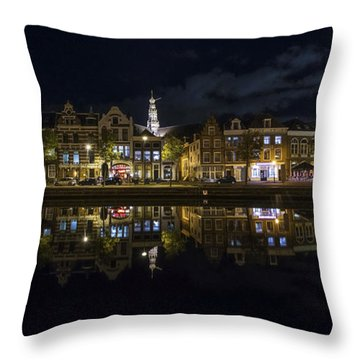 Haarlem Night Throw Pillow by Chad Dutson