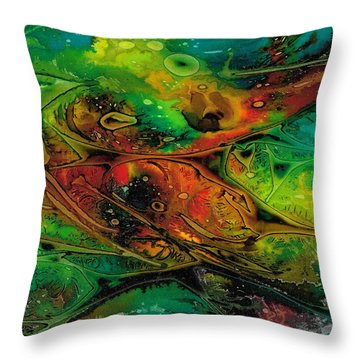Habitat Paradigm Throw Pillow