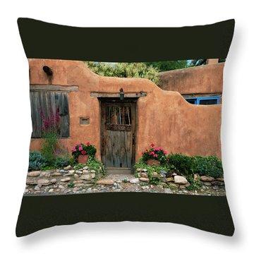 Hacienda Santa Fe Throw Pillow