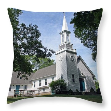 Haddam Neck Covenant Church Throw Pillow