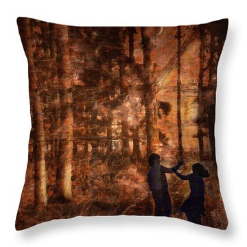 Haensel And Gretel Throw Pillow
