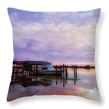 Hagley's Landing Throw Pillow