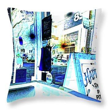 Haight Street San Francisco From 1428 Throw Pillow