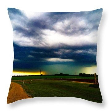 Hail Core Illuminated Throw Pillow