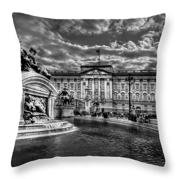 Hail To Majesty Throw Pillow by Evelina Kremsdorf