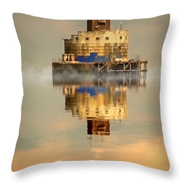 Haile Sand Fort Throw Pillow by Nick Wardekker