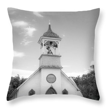 Hailey Church Throw Pillow