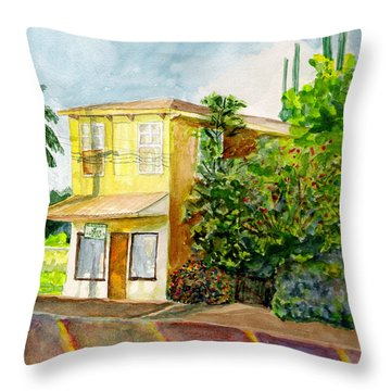 Hairbenders Of Paia Throw Pillow