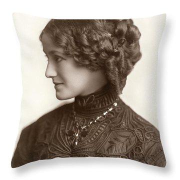 Hairstyle, C1900 Throw Pillow