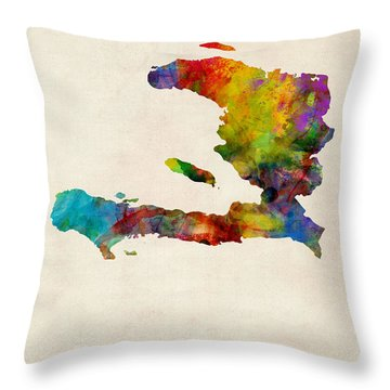 Haiti Throw Pillows