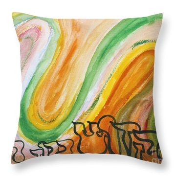 Hakadosh Barochu   The Holy One, Blessed Be He Throw Pillow