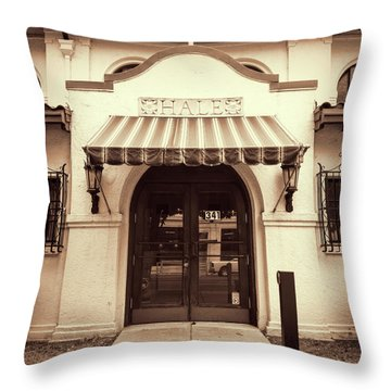 Throw Pillow featuring the photograph Hale by Stephen Stookey