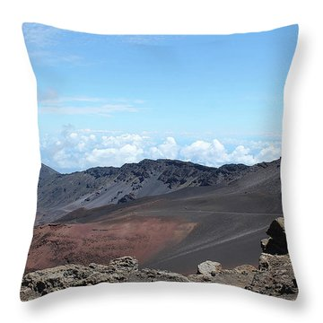 A Sleeping Giant Throw Pillow