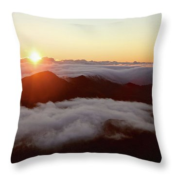 Haleakala Throw Pillow