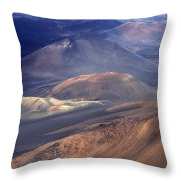 Haleakala, Maui I Throw Pillow