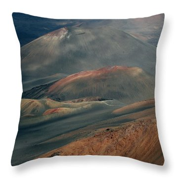 Haleakala, Maui IIi Throw Pillow
