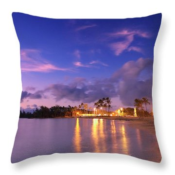 Hale'iwa Evening Throw Pillow