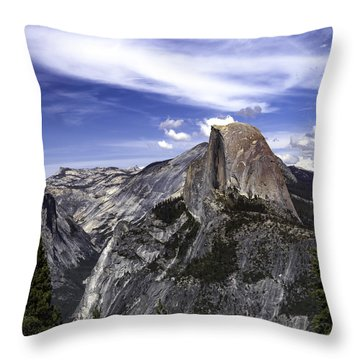 Half Dome #7 Throw Pillow