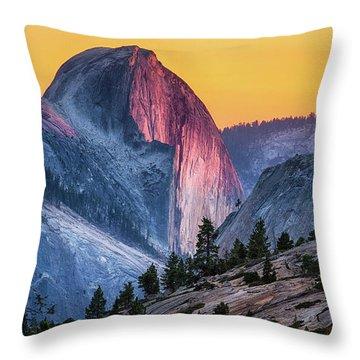 Half Dome Throw Pillows