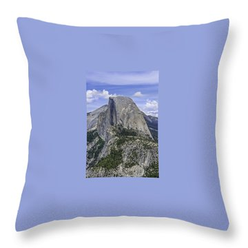 Half Dome Thumb Throw Pillow
