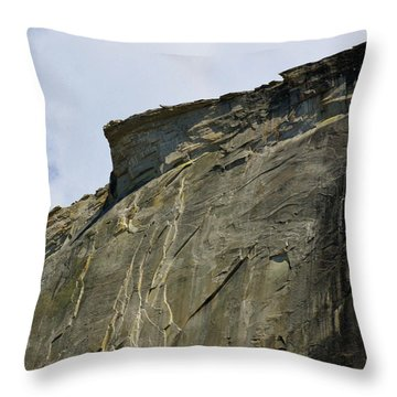 Half Dome With A View Of The Visor  Throw Pillow