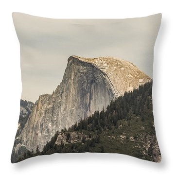 Half Dome Yosemite Valley Yosemite National Park Throw Pillow