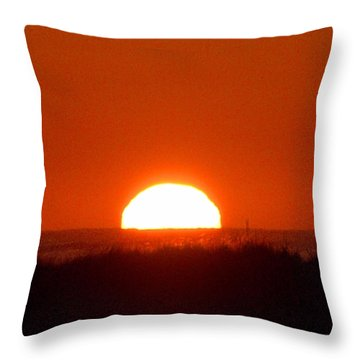 Half Sun Throw Pillow
