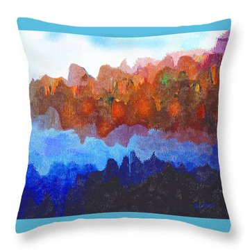 Haliburton Highlands Throw Pillow