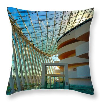 Hall Throw Pillow
