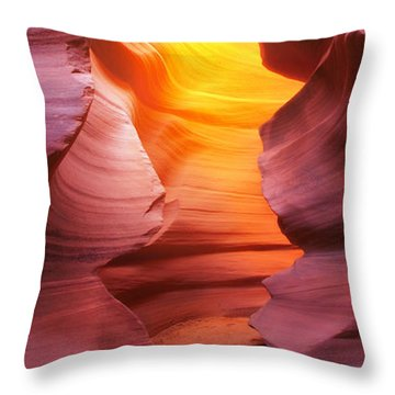 Throw Pillow featuring the photograph Hall Of Fire by Kadek Susanto