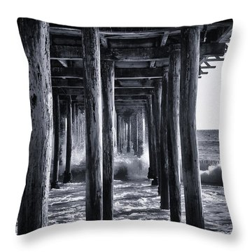 Hall Of Mirrors Throw Pillow