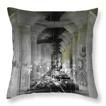 Hall Of Secrets Throw Pillow