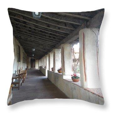 Hall Way Throw Pillow