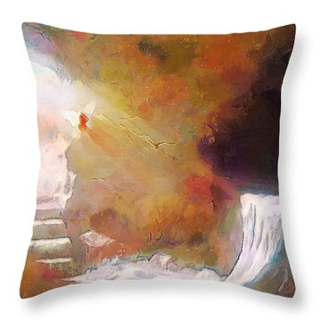 Hallelujah, He Is Risen Throw Pillow