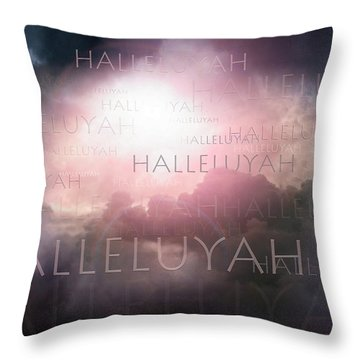 Halleluyah Throw Pillow by Bill Stephens