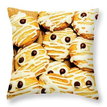 Halloween Baking Treats Throw Pillow