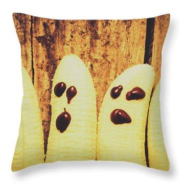 Halloween Healthy Treats Throw Pillow