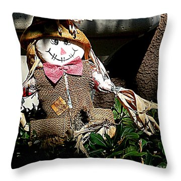 Halloween Is For Kids Throw Pillow
