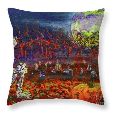 Halloween Serenity Throw Pillow