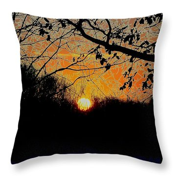 Hallows Eve Throw Pillow