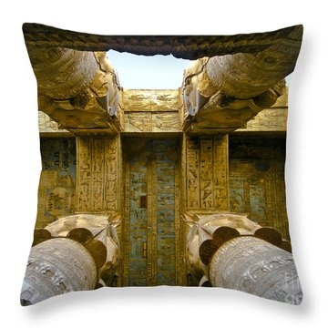 Halls Of History Throw Pillow